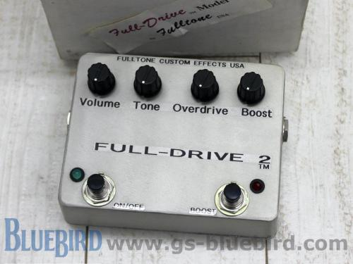 Fulltone FULL-DRIVE 2 early years 1996年製